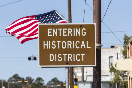 Historical District American Flag